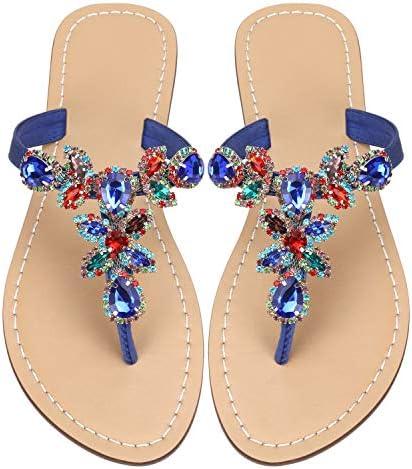 Rhinestone Jeweled Sandals