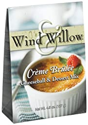Wind and Willow Creme Brulee Cheeseball Mix, 4.5-Ounce Boxes (Pack of 6)