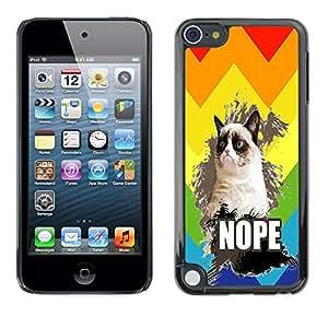 Dragon Case - FOR Apple iPod Touch 5 - Lost is the most precious - Caja protectora de pl??stico duro de la cubierta Dise?¡Ào Slim Fit