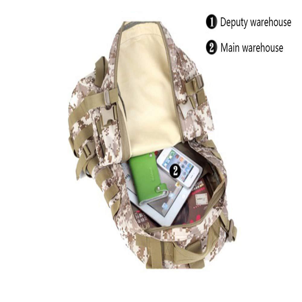 C Nulijianchi1 Mochila Impermeable para Hombres Mochila T/áctica Militar Paquete De Asalto Militar Mochila Peque/ña para Acampar