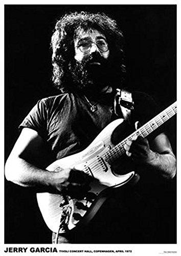 ArtIFicial Jerry Garcia Copenhagen 1972 Music Poster 23.5x33 inch