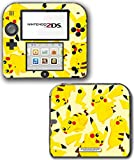 Pikachu Art Pokemon Go Design Pokeball Video Game Vinyl Decal Skin Sticker Cover for Nintendo 2DS System Console