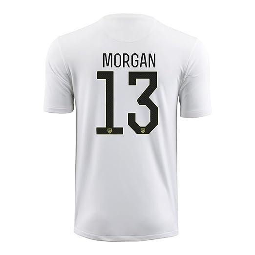 info for 5cb4c dd475 Amazon.com : Nike USA 2015-16 YOUTH Home Soccer Jersey Alex ...