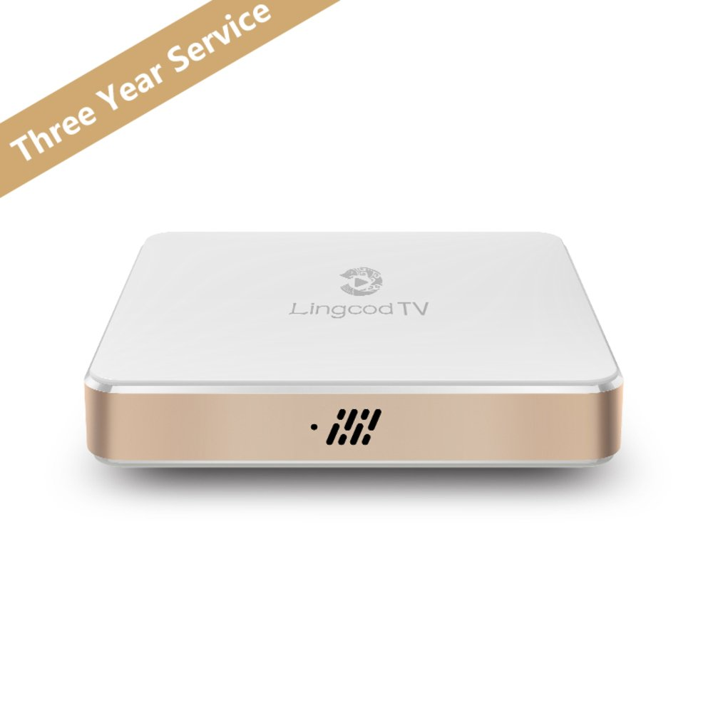 Specifications of Lingcod TV Three Year Service S905X Quad Core H.265 Android 6.0 8G by Lingcod