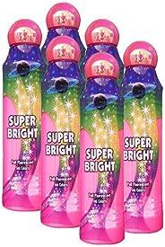 Six Pack 3oz Super Bright Pink Bingo Dauber