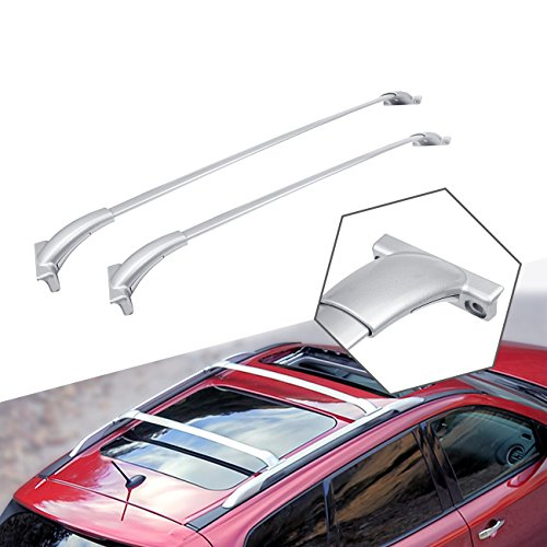 ALAVENTE Roof Rack Cross Bars for 2013-2019 Nissan Pathfinder Crossbar Roof Top Rail Rack (Silver)