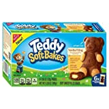 soft bake cookies - Nabisco Teddy Soft Bakes Vanilla Filling 6.36 oz