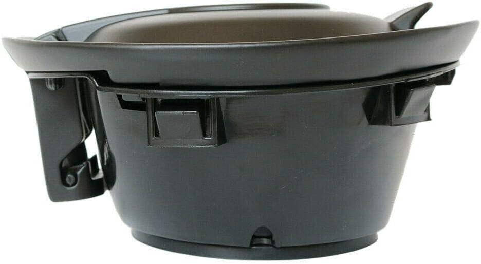 UAUS Fuel Gas Door Cover Cap Vapor Black For 2008-2019 Dodge Challenger 68250120AA
