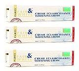 Bleaching Cream In Nigeria - Fair & White Cream Eclaircissante Whitening Cream, Removes Skin Blemishes, Vibrant Complexion, (3-Pack) 1.7 oz, By Fair & White