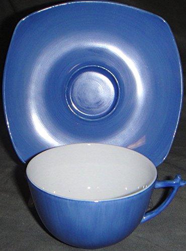Limoges Jammet Seignolles Saga Sky Blue Cup & (Limoges Saucer)