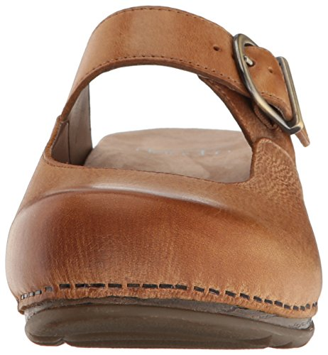 Dansko Women's Martina Mary Jane Flat, Honey Distressed, 40 EU/9.5-10 M US by Dansko (Image #4)