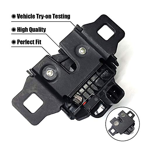 FEXON Hood Alarm Sensor Hood Latch Release Switch Hood Alarm Anti Theft Switch Sensor For Land Rover LR2 LR3 LR4 and Range Rover Sport LR065340