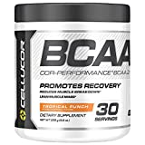 Cellucor COR Performance BCAA Powder, Branched Chain Amino Acids with Leucine, Isoleucine, and Valine, Tropical Punch, 30 Servings