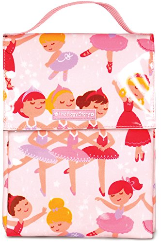 The Piggy Story 'Dance Magic' Insulated Wipe-Clean GoGo Lunch Sack for Kids