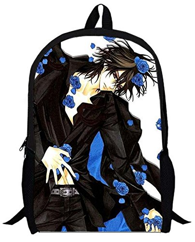(Siawasey Vampire Knight Anime Kurosu Yuki Cartoon Backpack Shoulder School)