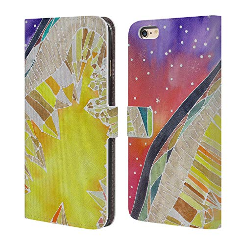 - Official Lauren Moss Citrine and Stars Agates & Crystals Leather Book Wallet Case Cover for iPhone 6 Plus/iPhone 6s Plus
