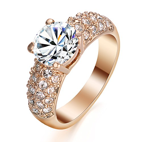 Yoursfs 18k Diamond Wedding Ring (Gold) - 2