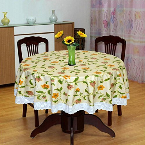 Katwa Clasic   60 #34; Round Printed WRF Series Table Cover  POWRF 12