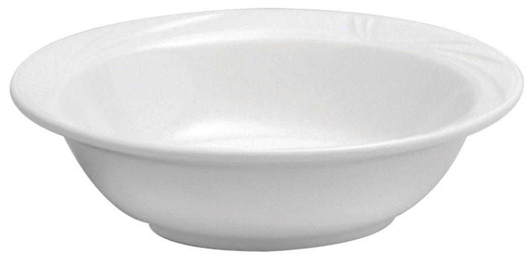 Oneida Foodservice R4510000720 Porcelain Arcadia Grapefruit Bowl 6.5'' Bright White