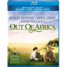 Out of Africa [Blu-ray/DVD Combo + Digital Copy] (1985)