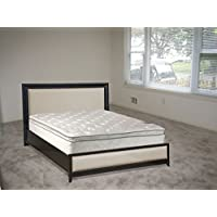 Continental Sleep, Medium Plush Pillowtop, Orthopedic type Double sided Mattress ,King Size