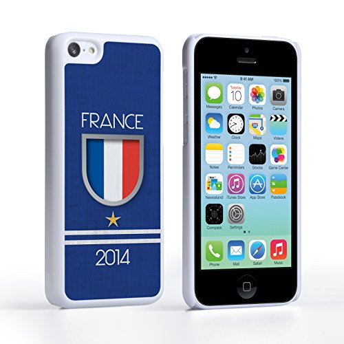 Caseflex iPhone 5C Hülle France Weltmeisterschaft Hart Schutzhülle