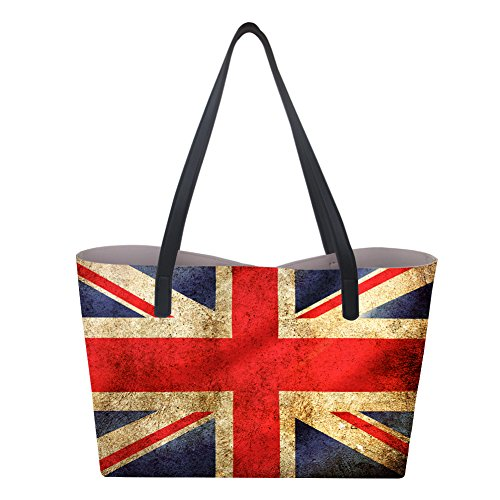 Showudesigns donna Borsa British Large Flag mano a 6ARwrTq6