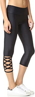 product image for Onzie Hot Yoga Weave Capri 289 Black