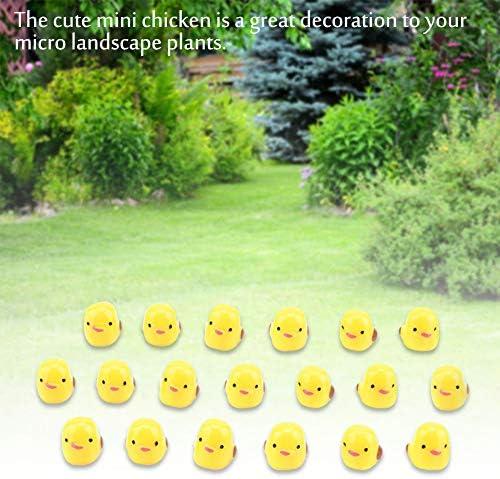 Salinr ガーデン 盆栽 ドールハウス ミニチュア マイクロ 風景 装飾品 アクセサリー 庭の装飾 ダックス マイクロ風景 盆栽 DIY 装飾 環境にやさしい