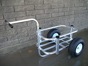 Fishing carts with wheels the best cart for Surf fishing cart