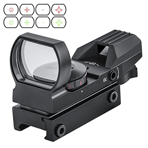 OTW Electro DOT Sight Field Sport Red and Green Reflex Sight with 4 Reticles (X7 Phenom Rail)