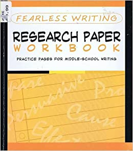 research paper workbook Research writing workbook as a result of following the research process, students should have: • essential question(s) or thesis statement • an outline that follows the essential question(s) or the main points that support the.