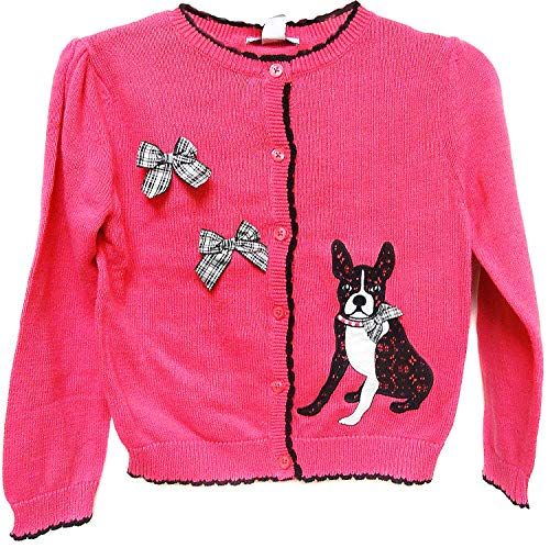 Hartstrings Girl's Button-Down Soft Knit Cardigan K-9 (5, -