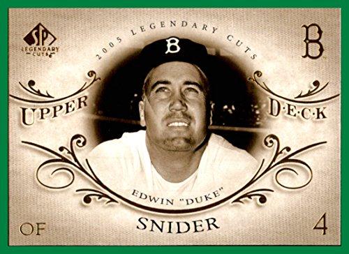 2005 SP Legendary Cuts #20 Duke Snider brooklyn dodgers ()
