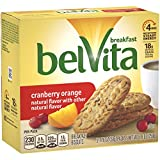 belVita Cranberry Orange Breakfast Biscuits, 6