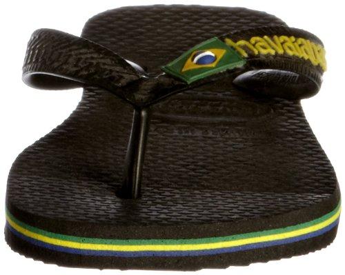 Infradito 4000032 Nero Unisex Havaianas 0090 Brasil black Adulto HEXqz1nz