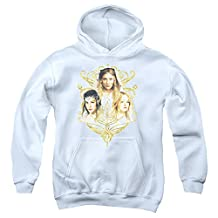 The Lord Of The Rings Movie Women Of Middle Earth Eowyn Arwen Big Boys Hoodie