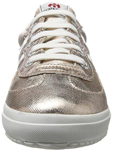 Superga Unisex 2832 Gold Adulto Sneaker cotmetw Rose rqrpOt