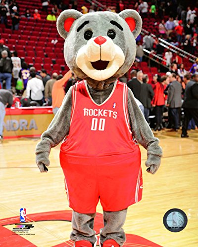 (Houston Rockets 2015 NBA Team Mascot Photo (Size: 8