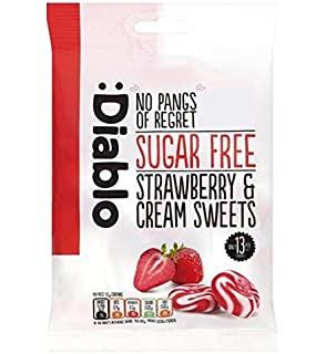 Amazon.com : Diablo Sugar Free Milk Chocolate Bar 85g (Pack ...