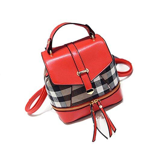18 main 12 dos Sac femmes multifonctionnel décontracté mode 20cm PU cuir en sac des de la à sac à souple xqZU4ZwAT0
