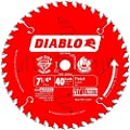 Freud D0740A Diablo 7-1/4 40 Tooth ATB Finishing Saw Blade with 5/8-Inch Arbor, Diamond Knockout, and PermaShield Coating from Diablo