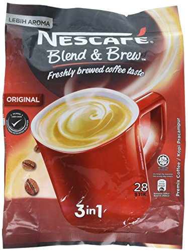 : Nescafé 3 in 1 Instant Coffee Sticks ORIGINAL - Best Asian Coffee Imported from Nestle Malaysia (28 Sticks)