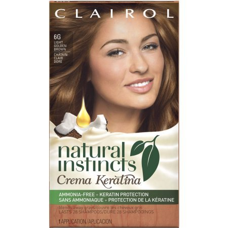 clairol-natural-instincts-crema-keratina-hair-color-kit-6g-caramel-creme-light-golden-brown-color