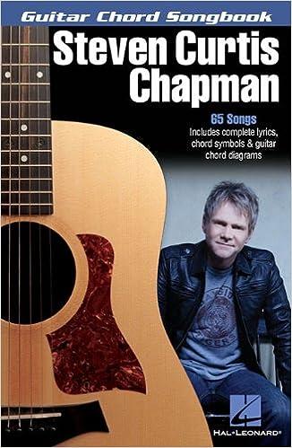 steven curtis chapman guitar chord songbooks