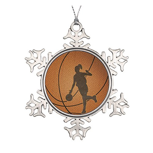 Basketball Girl Ornament