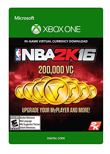 NBA 2K16 200,000 VC - Xbox One Digital Code