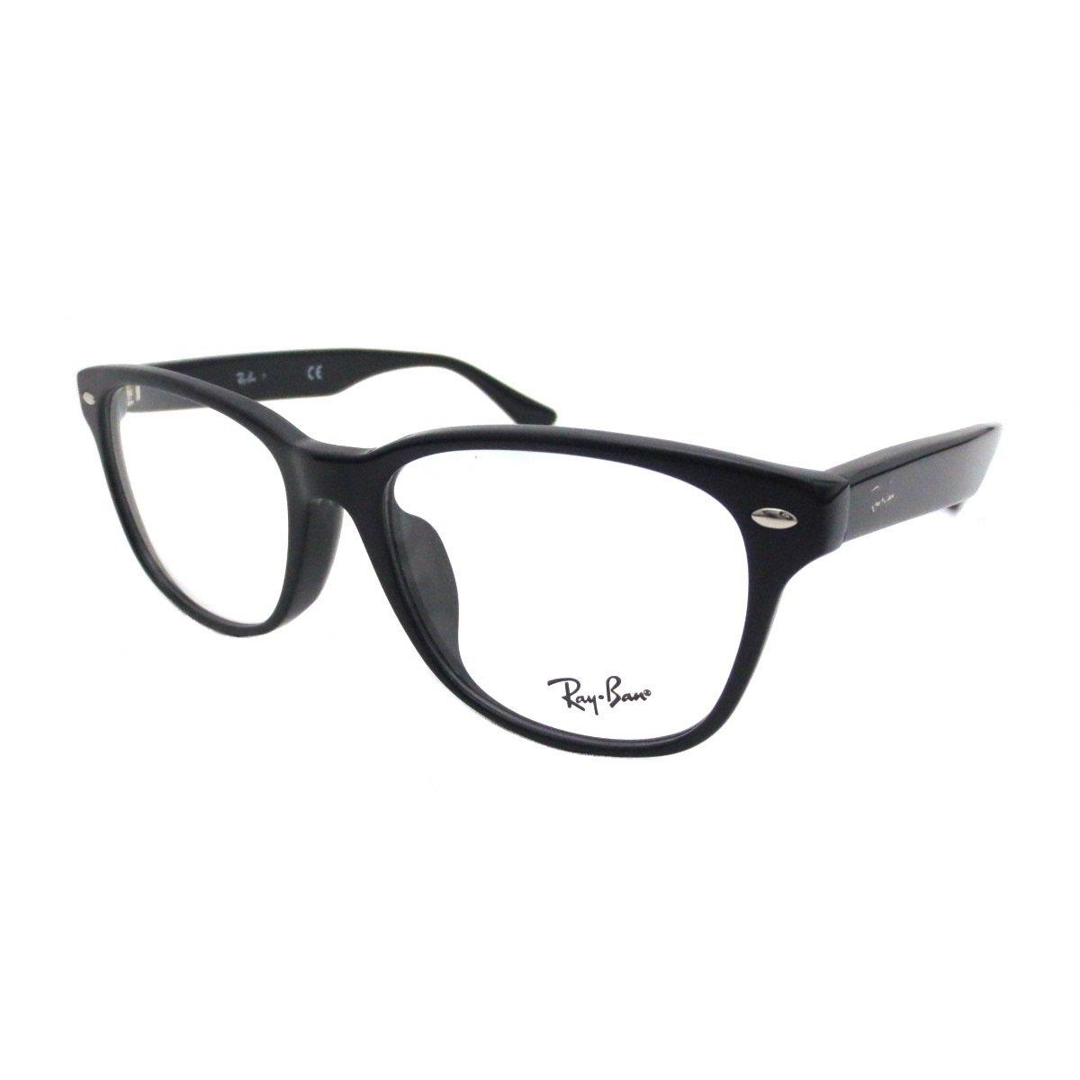 bui レイバン PCメガネ Ray-Ban ダテメガネ RX5359F 2000(55)眼精疲労予防レンズ(ビュイ bui)セット(伊達眼鏡用)   B07BKYB2RF