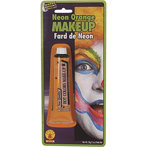 1 Ounce Color Splash - Rubie's Costume Co Color Cream Makeup-Orange Costume