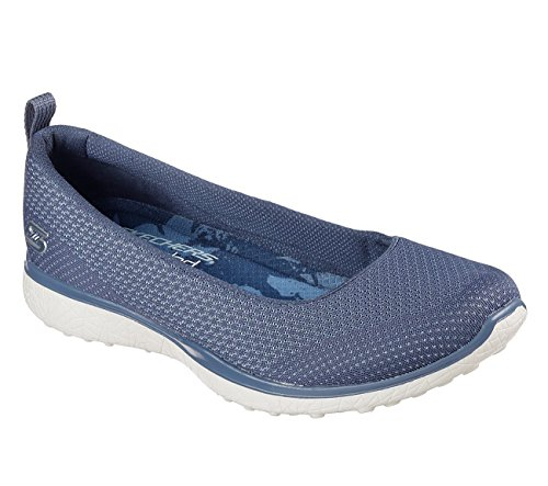 On Slip Skimmer Sneakers Womens Witted Slate Microburst Quick Skechers An1q47XW